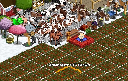 farmville auf facebook