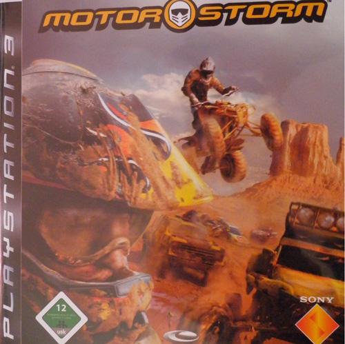 motorstorm cover