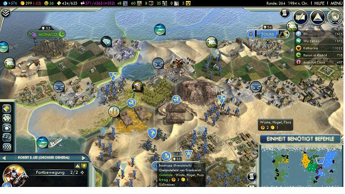 screenshot civ 5 nation frankreich