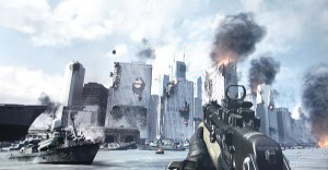 call of duty mw3 new york