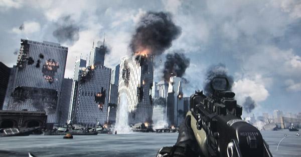 call of duty mw3 new york brennt