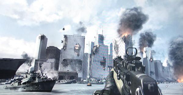 call of duty mw3 new york