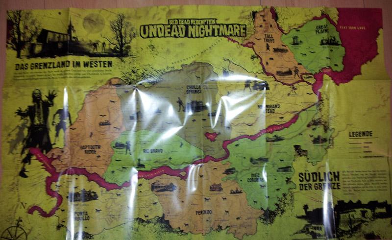 Karte von Red Dead Redemption Undead Nightmare