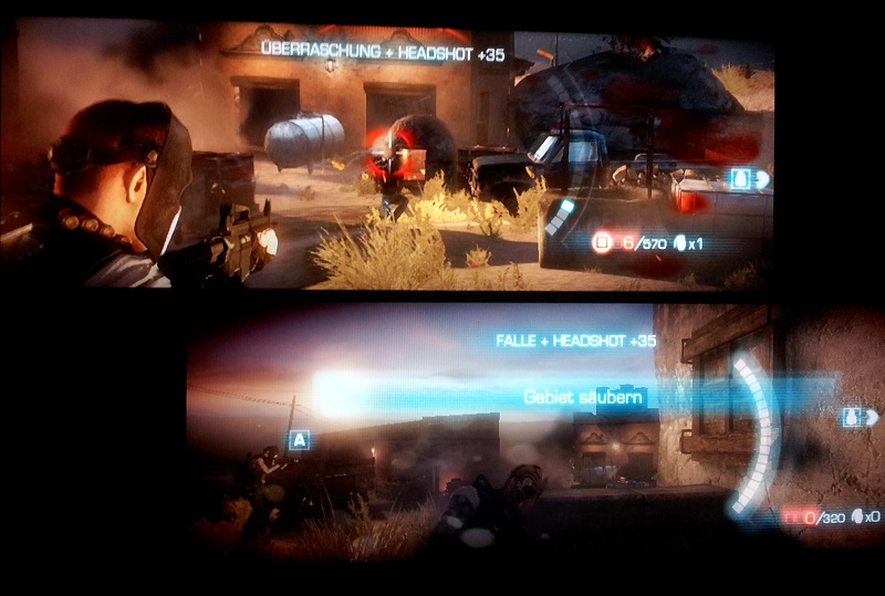 Army of Two The Devil's Cartel splitscreen