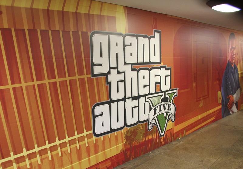 GTA 5 Werbung
