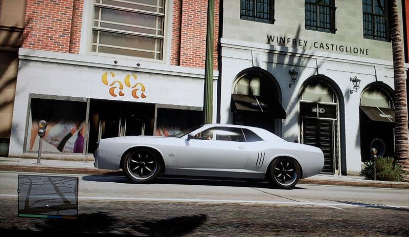 Gauntlet bei GTA5