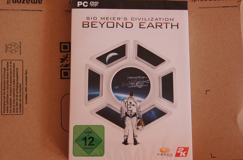 Verpackung Beyond Earth Sid Meiers Civilizations