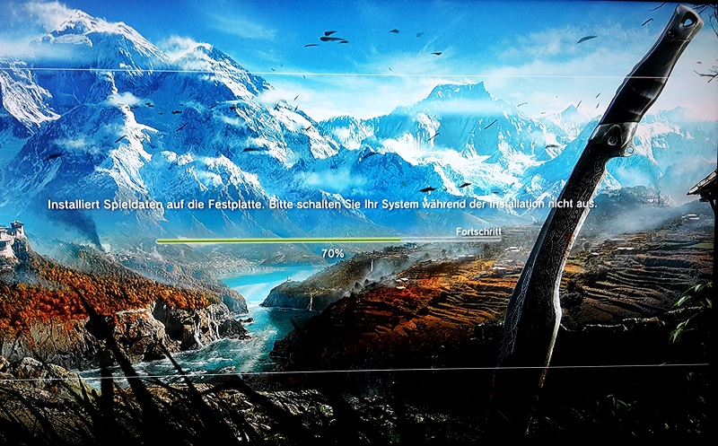 Far Cry 4 Installationsscreen