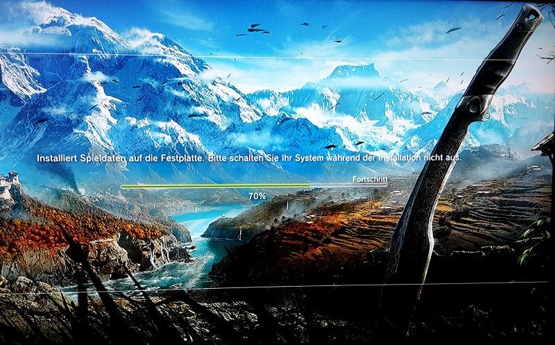 Far Cry 4 Installationsscreen